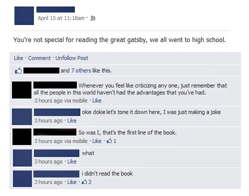 the great gatsby,old sport,failbook,g rated