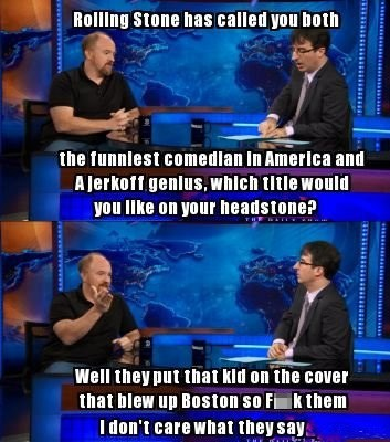 louis c.k,the daily show,rolling stone
