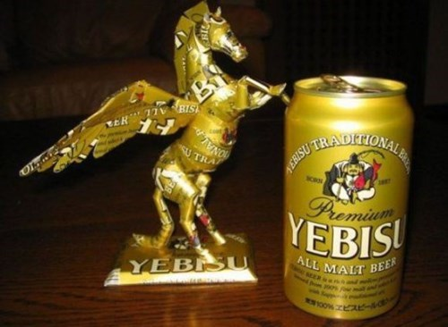 can of the week,pegasus,yebisu,funny