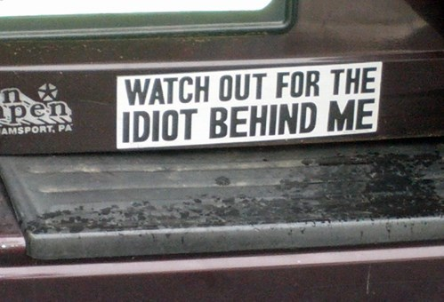 bumper stickers - 7689135104