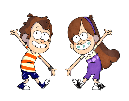 crossover disney Fan Art gravity falls cartoons phineas and ferb - 7689147648