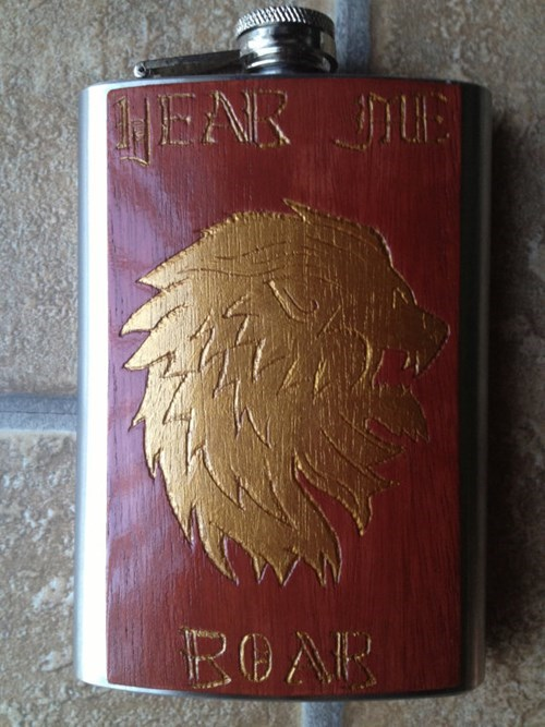 Game of Thrones lannister flask funny - 7689174272