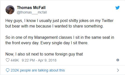 heartwarming twitter story