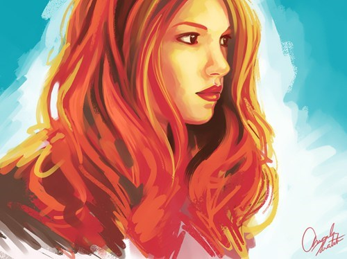Fan Art doctor who amy pond - 7689638400