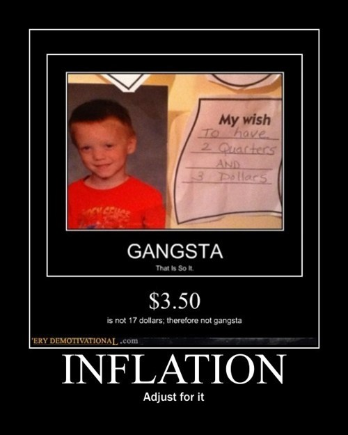 gangsta inflation bubble funny