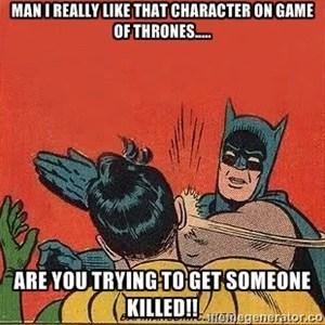 batman slap Game of Thrones - 7690323456
