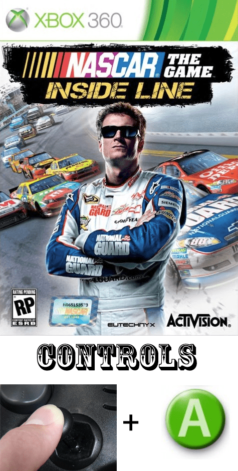 nascar video games controls - 7690637312