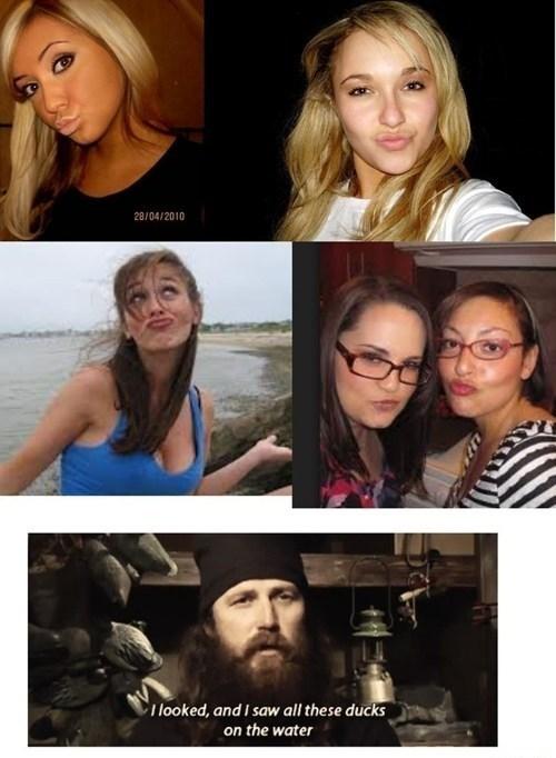 girls duck dynasty duckfaces americana - 7690641152