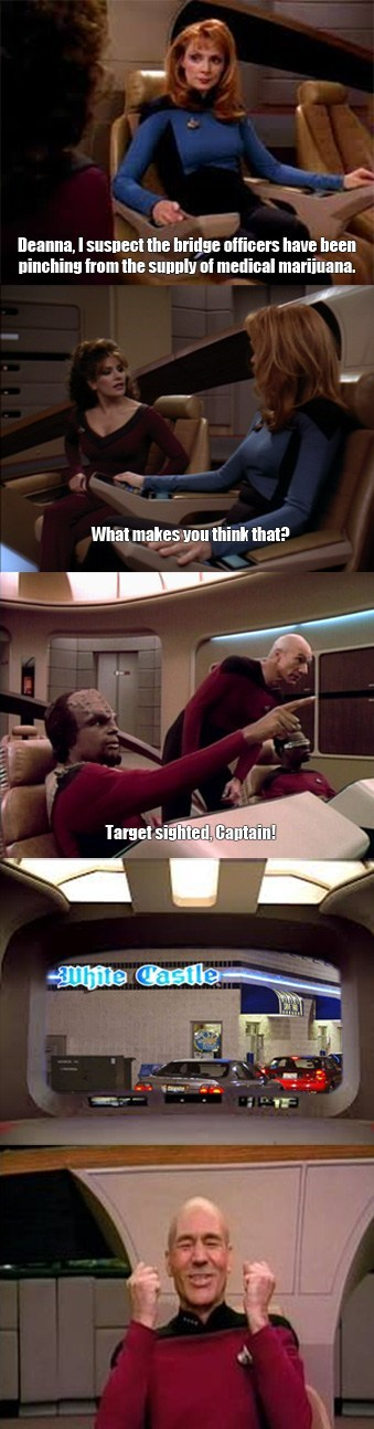 intuition White Castle Star Trek funny - 7690779648