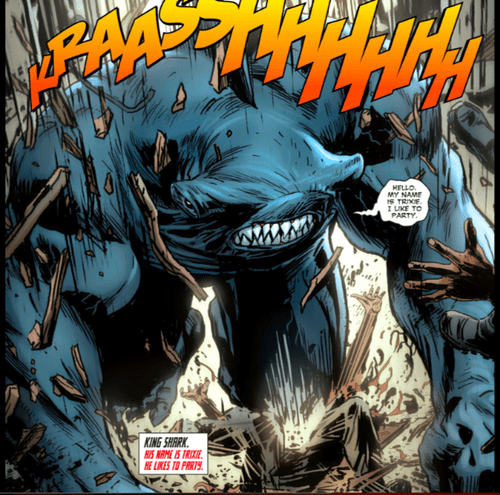 wtf,Straight off the Page,king shark