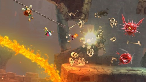 Video Game Coverage rayman legends - 7690936064