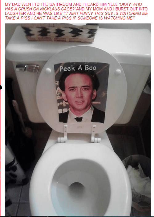 caged bathroom nicolas cage - 7690977024