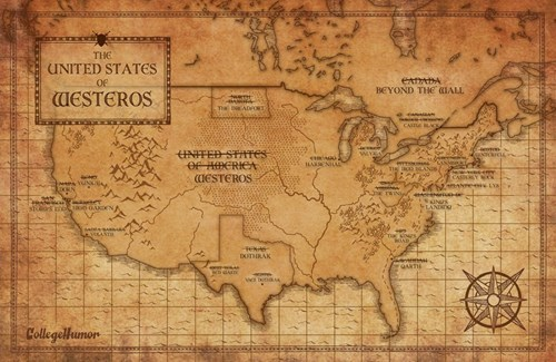 Game of Thrones,college humor,Maps