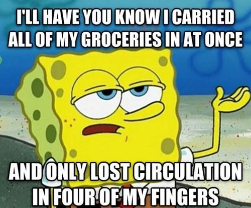 groceries SpongeBob SquarePants Memes - 7691394816