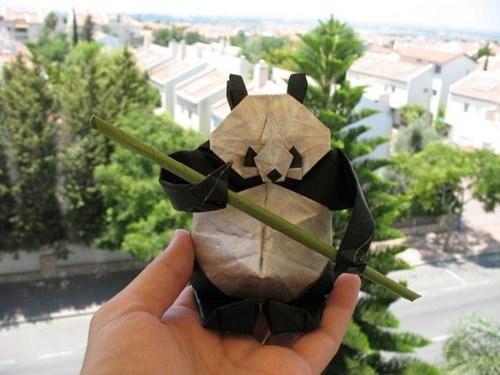 panda origami design cute - 7691776768