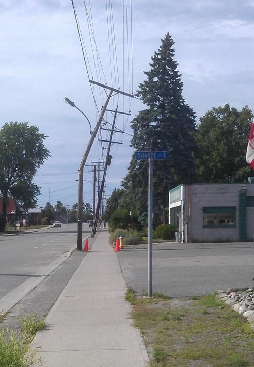 telephone poles road cones funny - 7691961600