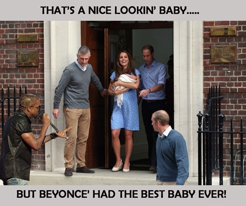 royal baby kanye west - 7691994368