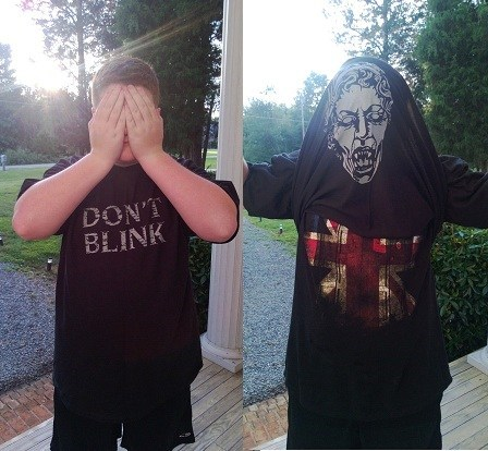 weeping angels,doctor who,shirts
