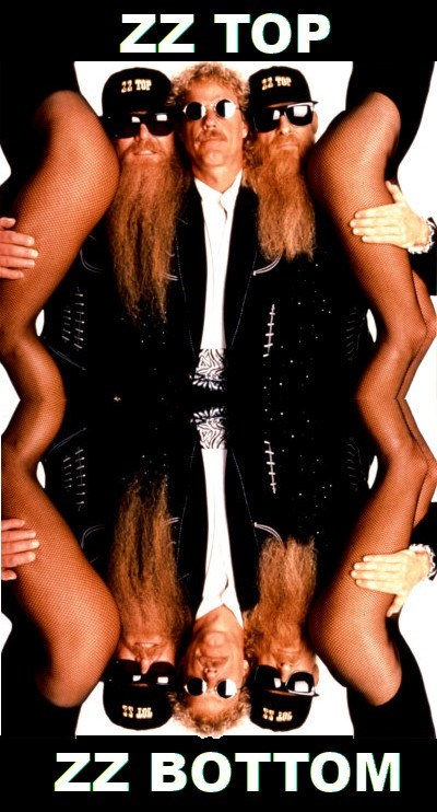 zz top,mirrors,legs,funny,best band ever