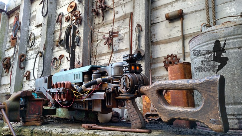 Some Committed Fans Created a Real Life Replica of Fallout 4's Head-Obliterating Gauss Rifle