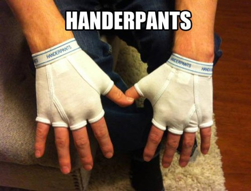 handerpants gloves underwear - 7693219584