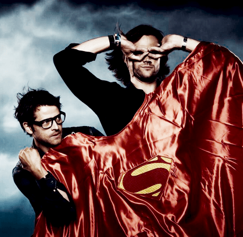 Super Man Supernatural misha collins Jared Padalecki - 7693286656