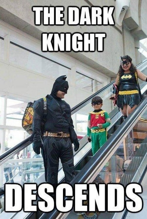 cosplay kids puns cute batman - 7693446400