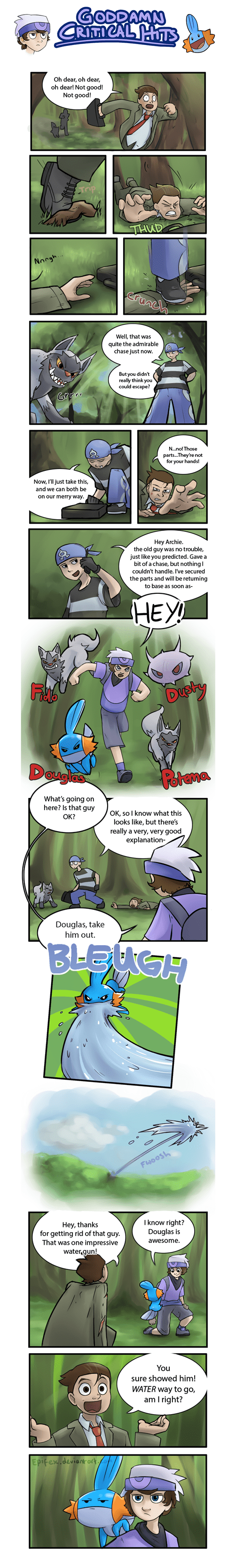 Pokémon comics puns - 7693477376