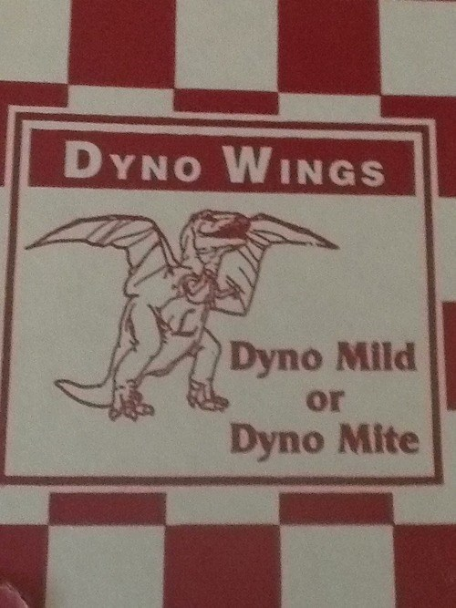 wings puns food funny dinosaurs - 7693511424