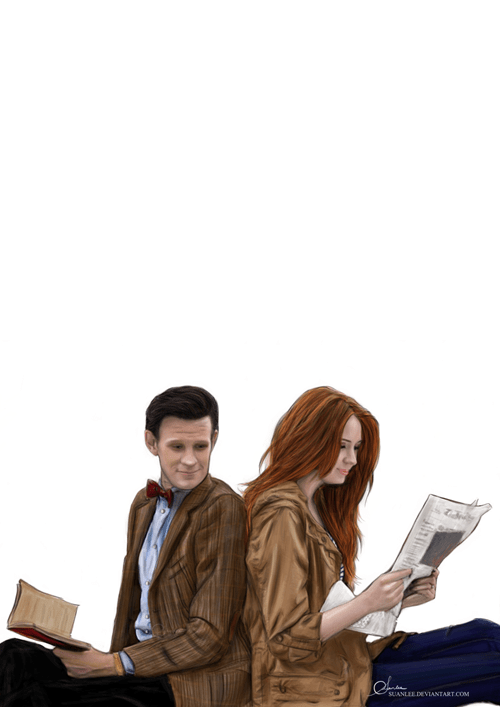 Fan Art 11th Doctor doctor who amy pond - 7693842432