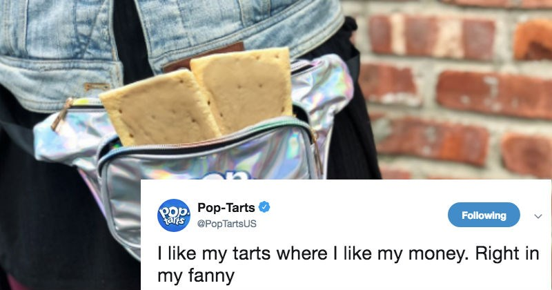 pop tarts twitter FAIL cringe social media ridiculous reaction funny - 7696133