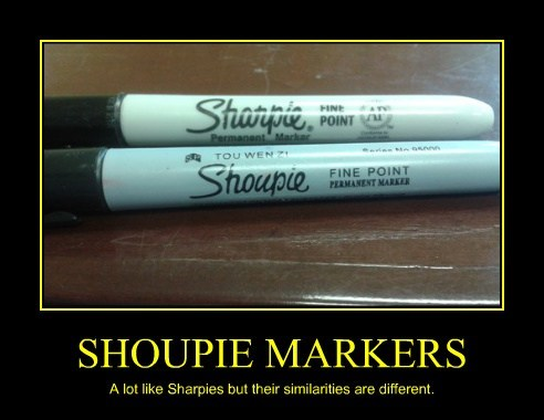 wtf sharpie markers spelling - 7696280320