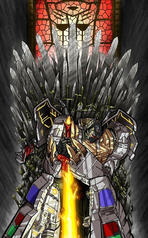 transformers crossover Game of Thrones Fan Art - 7696487936