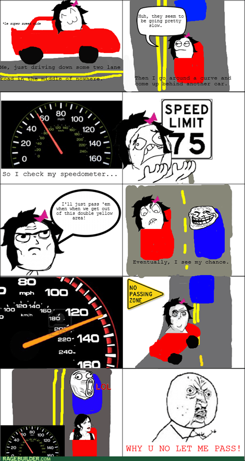 Why I Have Road Rage