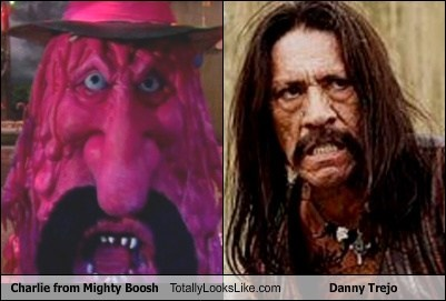 totally looks like mustaches mighty boosh funny Danny Trejo - 7697490176