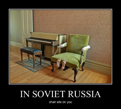 chair wtf funny Soviet Russia