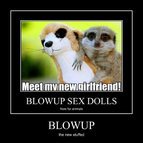 blowup cute stuffed funny animals