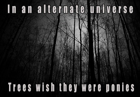 ponies trees alternate universes - 7699013888