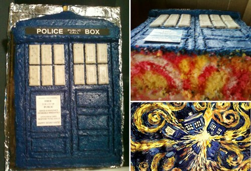 cake tardis doctor who noms - 7699016704