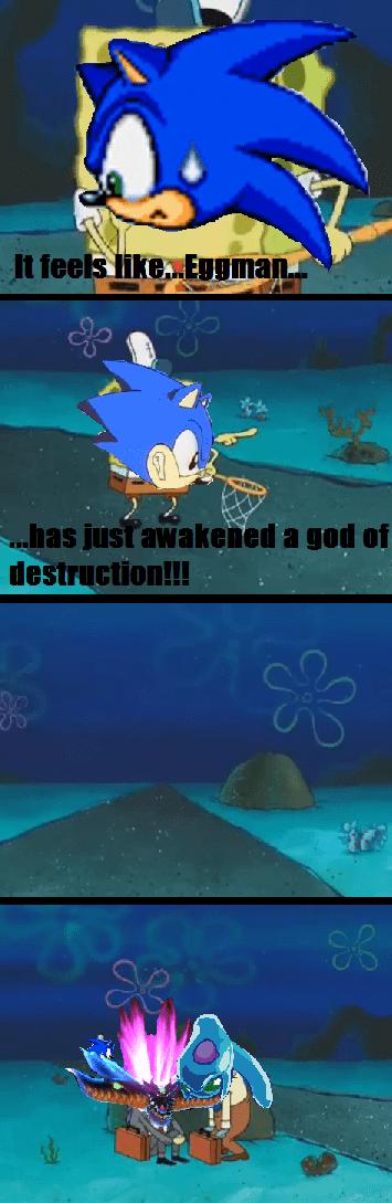 SpongeBob SquarePants,sonic