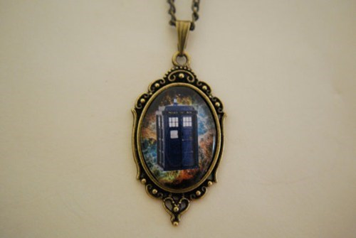 tardis Jewelry for sale doctor who - 7699294208