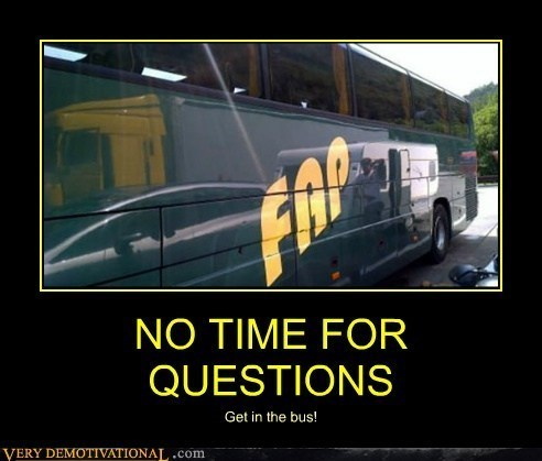 fapping funny bus