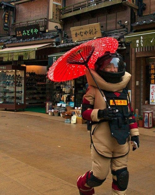 umbrella geisha for safety - 7699618048