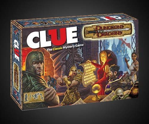board games clue dungeons and dragons - 7699802368