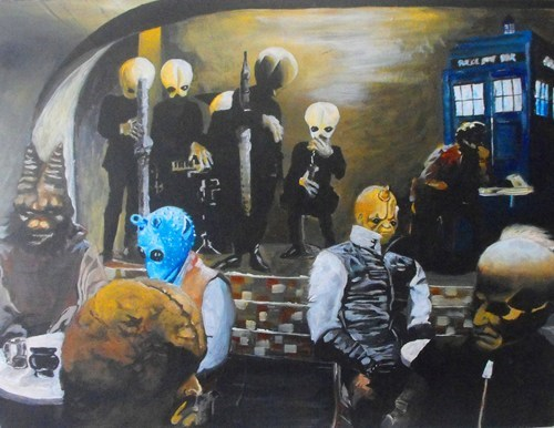 crossover star wars Fan Art for sale doctor who - 7700084736