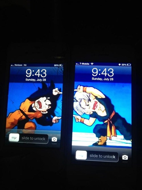 iPhones Dragon Ball Z wallpapers