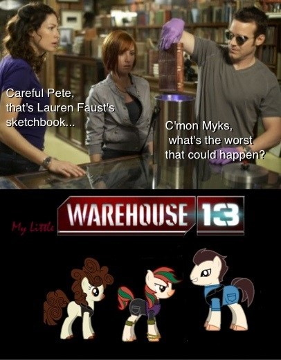 lauren faust,tv shows,warehouse 13,syfy