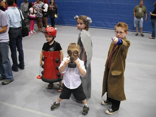 cosplay kids cute doctor who conventions - 7700980992