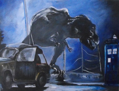 art for sale doctor who jurassic park - 7701042944