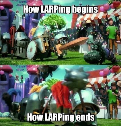 larping funny - 7701217536